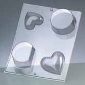 Casting Mould - Heart and Round Form
