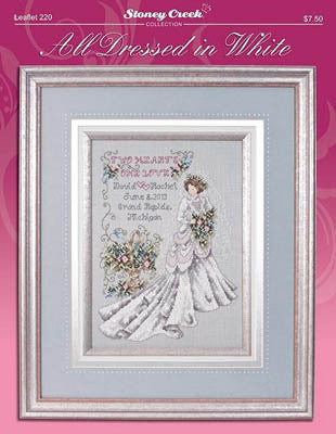 Cross Stitch Chart - All Dressed In White
