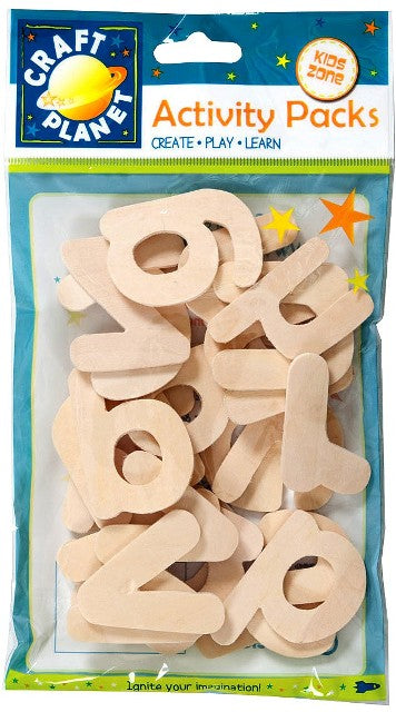 Wooden Alphabet - Lower Case by Craft Planet