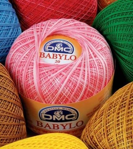 Babylo Crochet Thread by DMC - Thickness 20