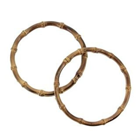 Bag Handles - Bamboo Ring - 18cm diameter by Hoooked