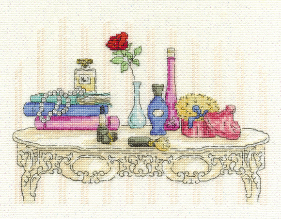 DMC Cross Stitch Kit - Vintage Chic - Beauty