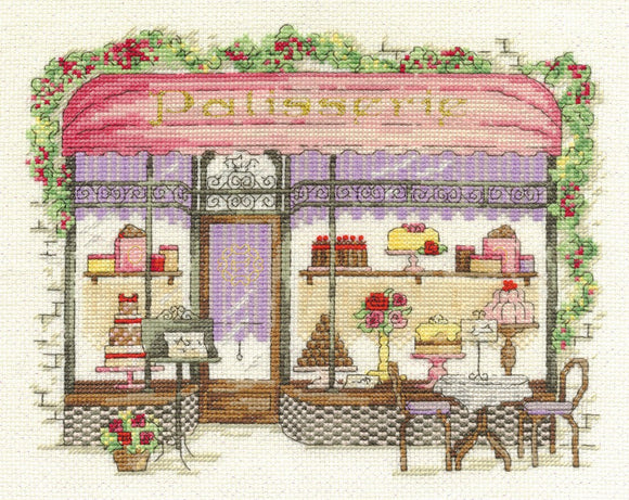 DMC Cross Stitch Kit - Vintage Chic - Patisserie