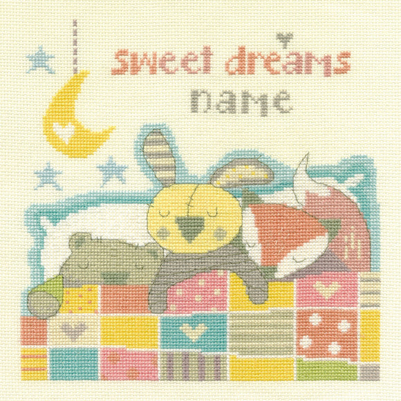 DMC Cross Stitch Kit - For The Little Ones - Sweet Dreams