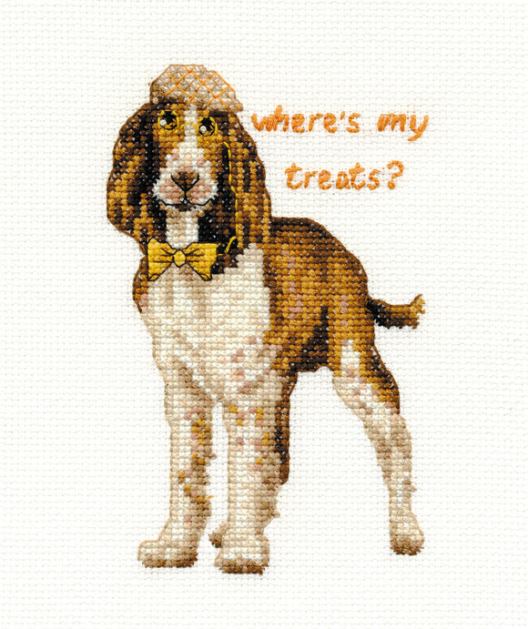 DMC Cross Stitch Kit - Dogs - Springer Spaniel