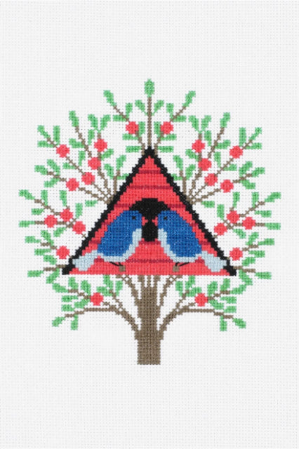 Bird House Cross Stitch Kit by DMC