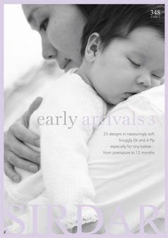 Sirdar 348 - Early Arrivals 3 Knitting Pattern Book