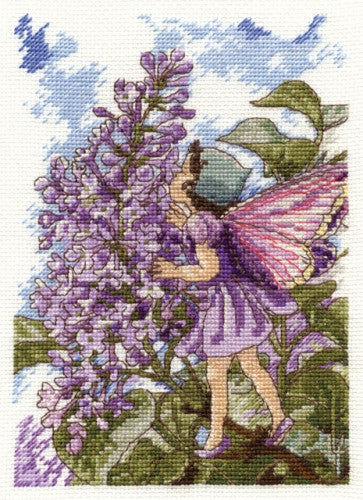 Lilac Fairy by DMC - Cross Stitch Kit