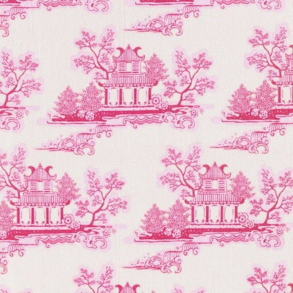 Fat Quarter - China Pink - Country Escape by Tilda