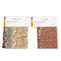 Adhesive Craft Fabric Pieces (8pc)