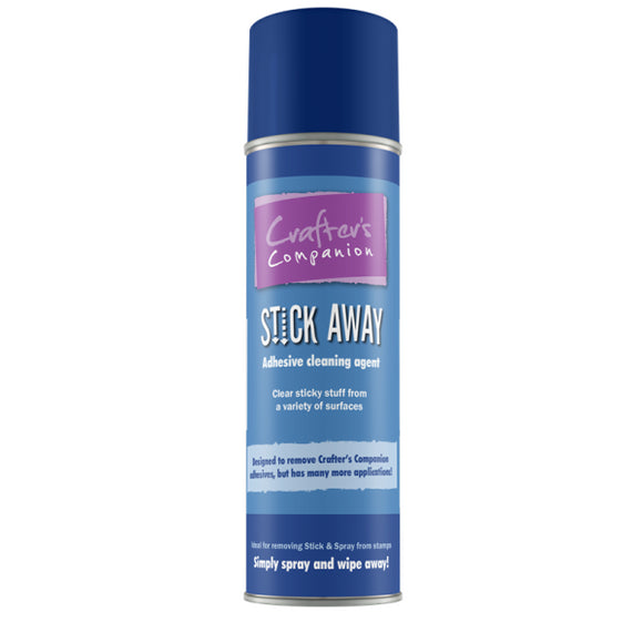 Crafters Companion Stick Away Adhesive Remover (BLUE CAN)