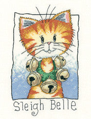Cats Rule by Peter Underhill - Sleigh Belle