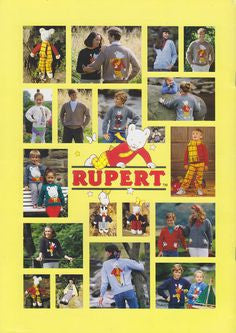 Rupert and Friends Knitting Book - Patons 312