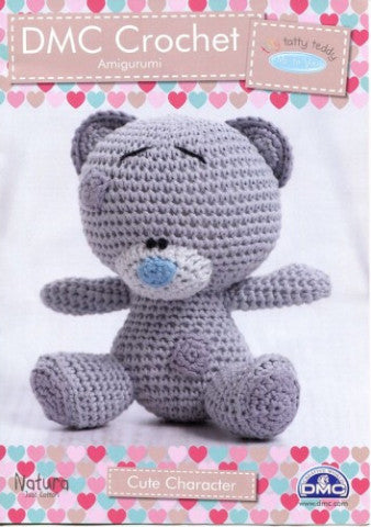 Tiny Tatty Teddy Bear - DMC Crochet Amigurumi Pattern