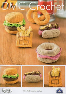 New York Food Favourites Crochet Pattern - DMC Crochet Amigurumi