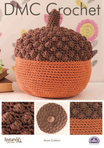 Acorn Cushion - DMC Crochet Amigurumi Pattern