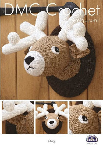 Stag Wall Plaque - DMC Crochet Amigurumi Pattern