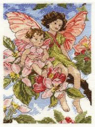 Apple Blossom Fairy by DMC - Cross Stitch Kit