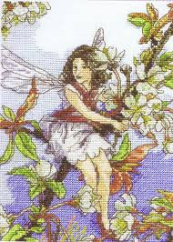 Wild Cherry Blossom Fairy by DMC - Cross Stitch Kit
