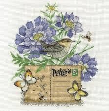 DMC Cross Stitch Kit - Wren