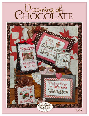 Dreaming of Chocolate Cross Stitch Booklet by Sue Hillis Designs