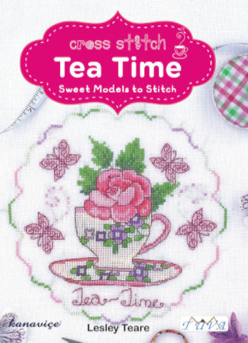 Tea Time Cross Stitch Book by DMC