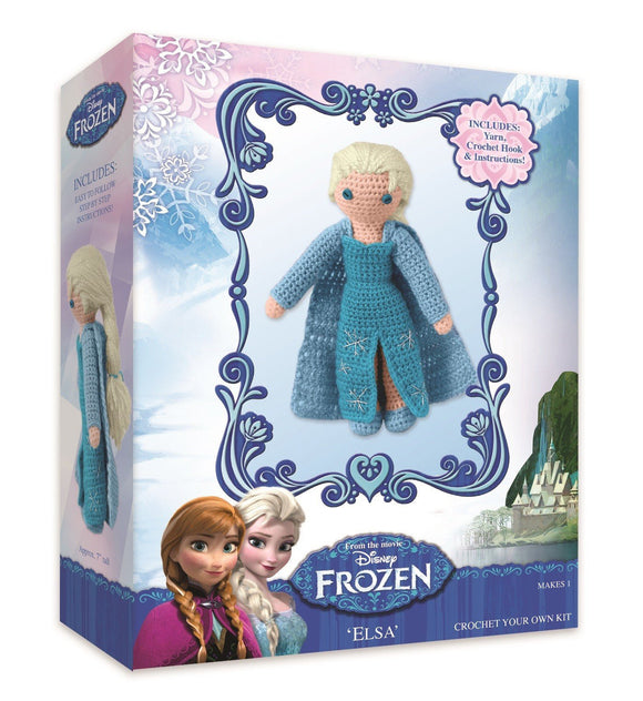 Designer Crochet Doll Kit - Disney Frozen
