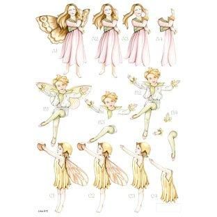 Die Cut Decoupage Forever Fairies 5