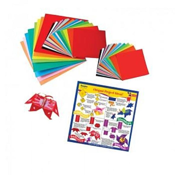Origami Paper - 55 sheets Assorted Sizes