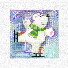 Heritage Crafts - Karen Carter Christmas Cards – Polar Bear