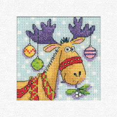 Heritage Crafts - Karen Carter Christmas Cards – Reindeer