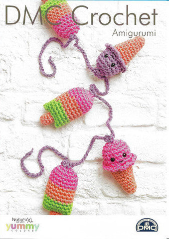 Ice Cream and Lolly Bunting - DMC Crochet Amigurumi Pattern