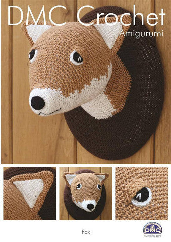 Fox Wall Plaque - DMC Crochet Amigurumi Pattern