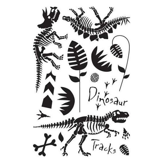 Dinosaur Clear Stamps by Basic Grey