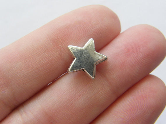 Star spacer beads
