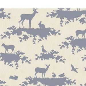 Fat Quarter - Autumn Tree by Tilda - Forest Slate Blue