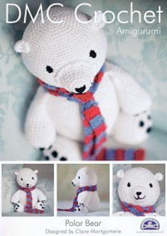 Polar Bear - DMC Crochet Amigurumi Pattern
