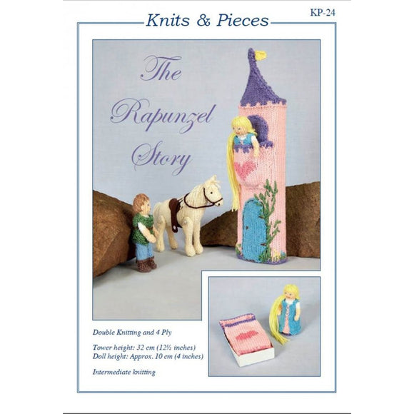 KP-24 Knitting Pattern - The Rapunzel Story