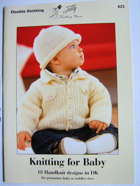 Knitting For Baby - Teddy Pattern Book 623