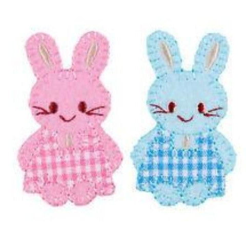 Iron-on / Sew-on Motifs - Baby Bunnies