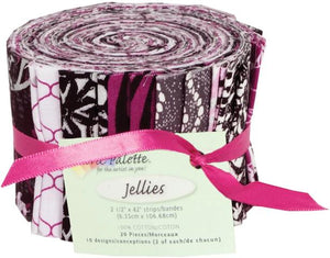 Fabric Jelly Roll - City Jellies by Fabric Palette