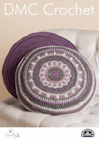 Mind Your Mandala Pillows - DMC Crochet Pattern
