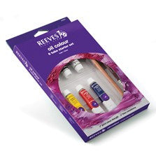 Reeves Oil Colour 6 Tube Starter Set