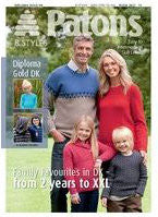 Family Favourites in DK Knitting Pattern Book - Patons 3827
