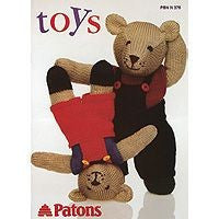 Patons Toy Pattern Book 0376 - Knitting/Crochet Patterns