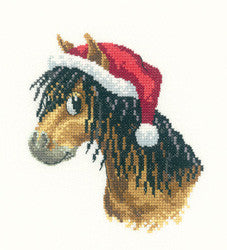Christmas Pony Cross stitch kit