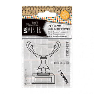 Mr Mister Clear Stamp by Papermania - Trophy