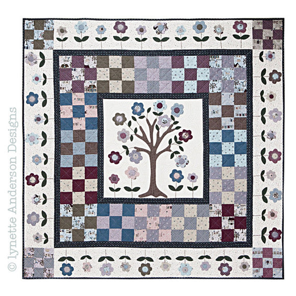 Lynette Anderson Cherry Tree Quilt Pattern