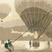 Heritage Crafts - Silhouettes - Great Escape Cross Stitch Kit