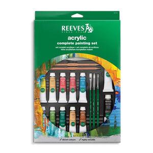 Reeves Acrylic Complete Painting Set